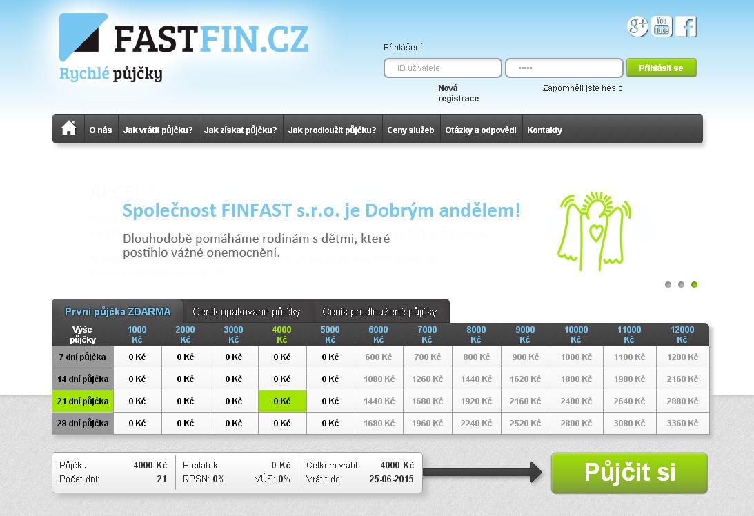 Fastfin.cz